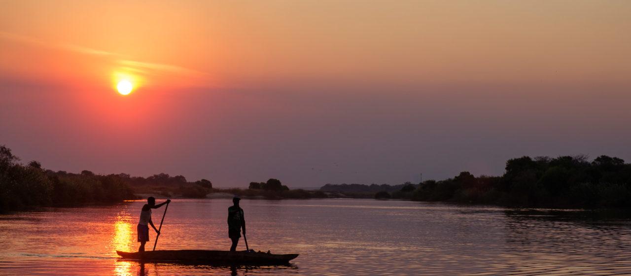 14.9.2019 - Sambesi, Sunset Boat Tour