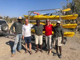 4.9.2019 - Kayak Tag 5, Abschied von der Crew