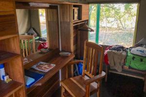 20.9.2019 - Xaro Lodge, Tent 2