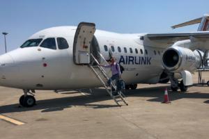 23.9.2019 - Flug Maun-Johannesburg