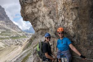12.8.2018 - Klettersteig Toblinger Knoten