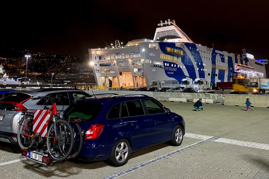 6.10.2020 - Einschiffung in Genua - MV Excellenza