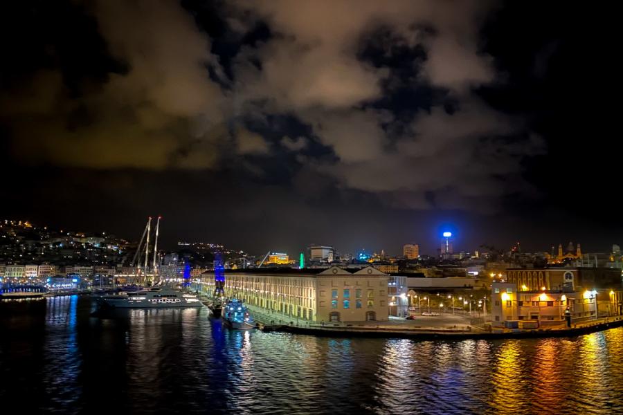 6.10.2020 - Ausfahrt aus Genua