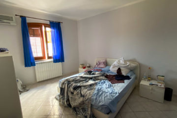 8.10.2020 - Unser Airbnb in Castellammare, Schlafzimmer