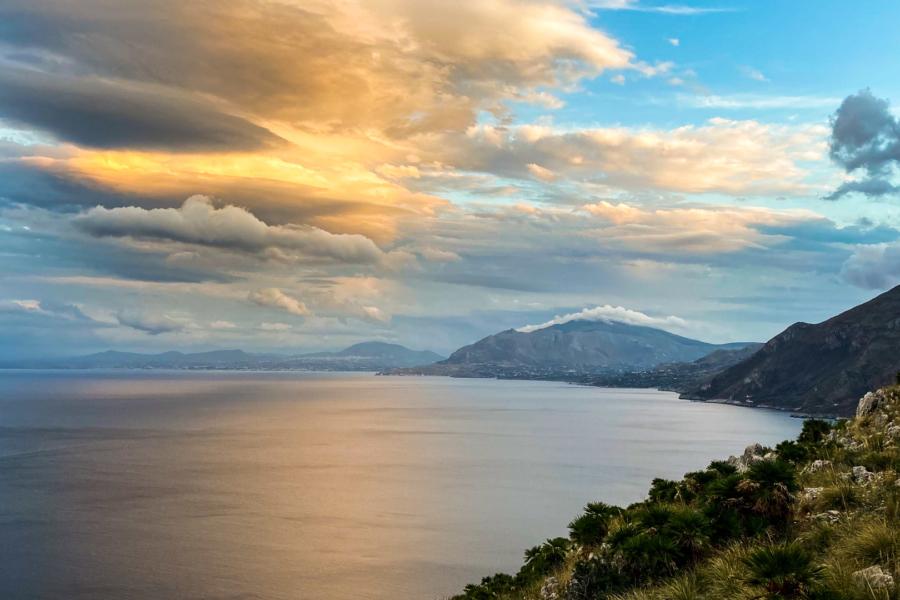 11.10.2020 - Sonnenuntergang, Riserva Naturale dello Zingaro