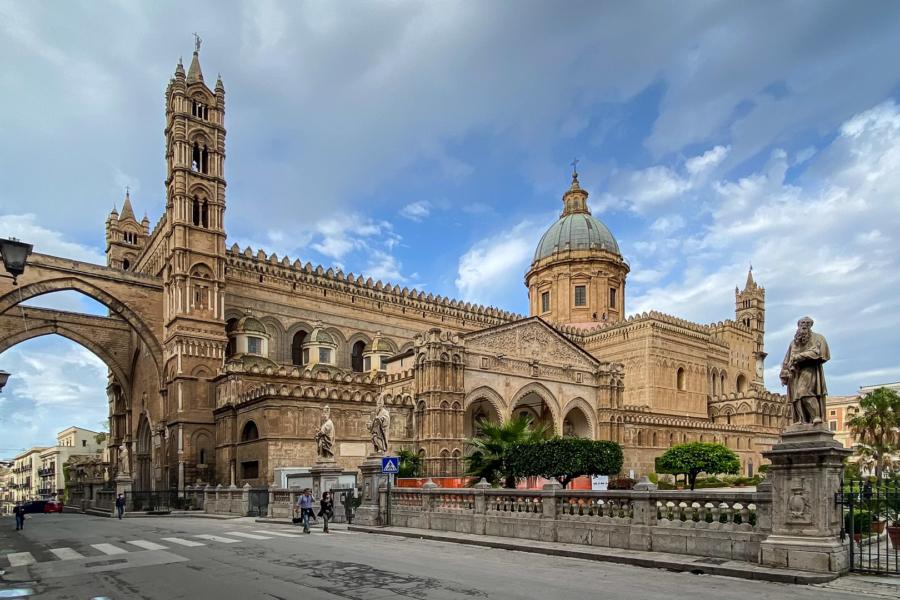 15.10.2020 - Palermo, Cattedrale di Palermo (Normannendom)