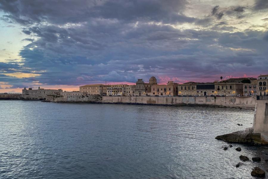 18.10.2020 - Abendspaziergang Ortigia