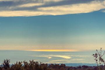 22.10.2020 - Etna Bike B&B, Blick von der Terrasse
