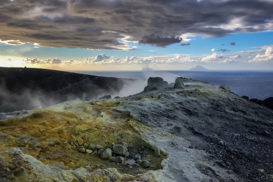 28.10.2020 - Vulcano, Gran Cratere