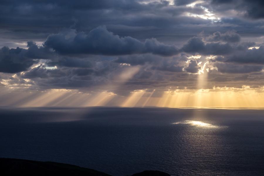 28.10.2020 - Sonneununtergang, Vulcano