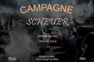 17.1.2020 - Champagner-Etikett ;-)
