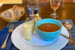16.8.2020 - Belohnung: Soupe de Poisson im Le Hangar du Pecheur :-)