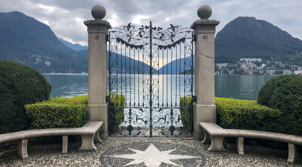 6.10.2020 - Lugano, Kunst im Ciani Park