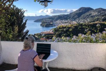 2.11.2020 - Work&Travel, Lipari ;-)
